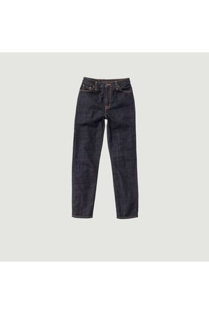 Nudie Jeans Mom Jeans Raw Jeans