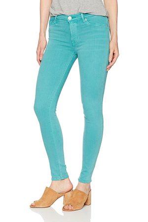 Hudson Women Slim Trousers - Hudson WM407JFD Nico Skinny Soft Teal