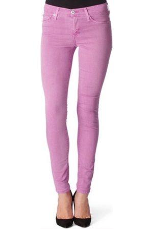 Hudson Women Slim Trousers - Hudson WM407JFD Nico Skinny Lavender