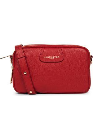 Lancaster Women Handbags - Dune Small shoulder three zip - Rouge