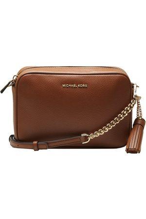 Michael Kors Women Luggage - MICHAEL KORS - Leather Strap Ginny - Luggage