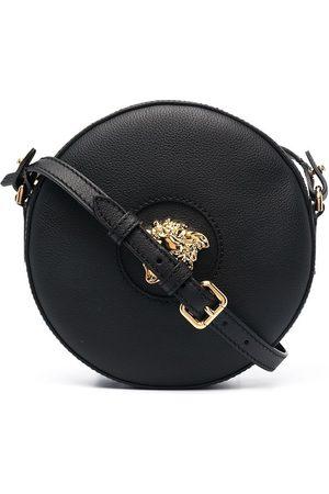 VERSACE WOMEN'S DBFI050DVIT3TKVO41 LEATHER SHOULDER BAG