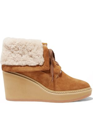 Chloé Martinica Shearling Ankle Boots