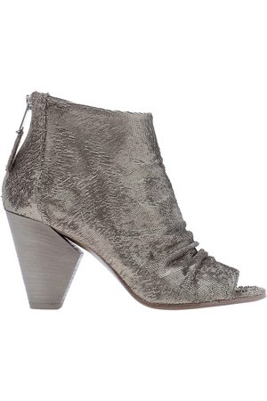 Strategia Women Ankle Boots - WOMEN'S A4458SAND GREY LEATHER ANKLE BOOTS