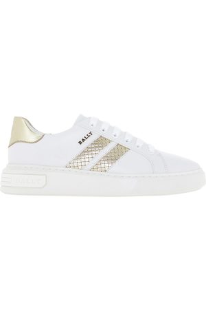 Bally WOMEN'S 6237820MARCUSIWPLATINOWHI OTHER MATERIALS SNEAKERS