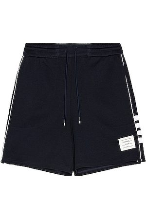 Thom Browne Track Shorts in Navy