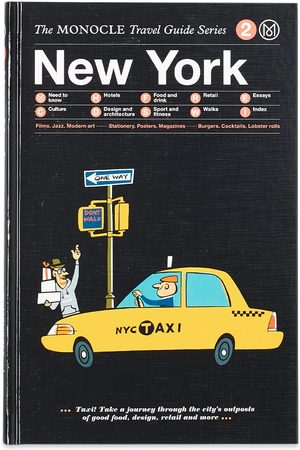 Publications Men Rainwear - The Monocle Travel Guide: New York