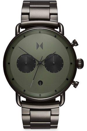 MVMT Blacktop Rallye Gunmetal Stainless Steel Chronograph Bracelet Watch