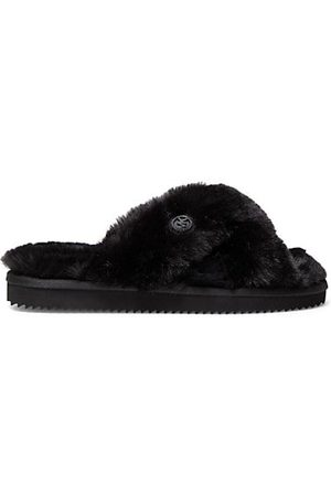 Michael Kors Indoor Shoes - Lala Faux Fur Slippers