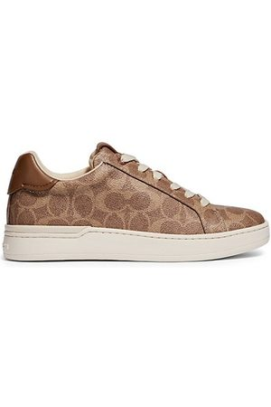 Coach Sneakers - Lowline Coated Canvas Sneakers