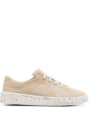 Camper Men Sneakers - Courb contrast-stitch sneakers