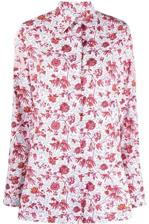 Patou Floral-print long-sleeved shirt