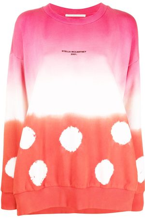 Stella McCartney Oversized gradient tie-dye sweatshirt