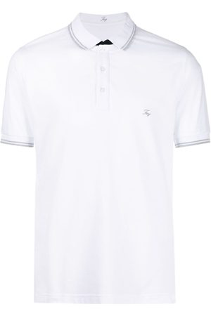 FAY Logo-patch short-sleeved polo shirt