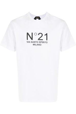 Nº21 Logo-print crew-neck T-shirt