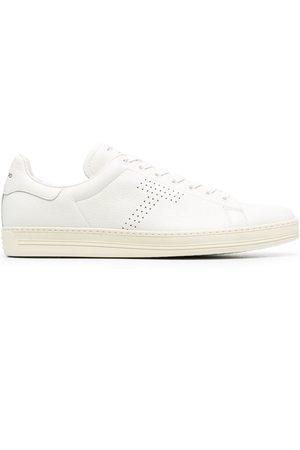 Tom Ford Punch-hole detail lace-up sneakers