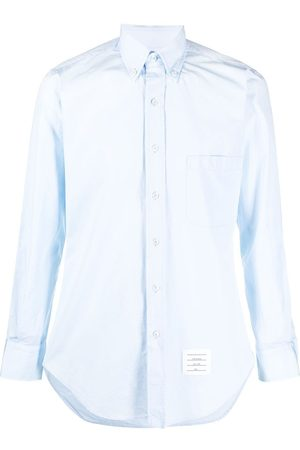 Thom Browne Long-sleeve button-fastening shirt