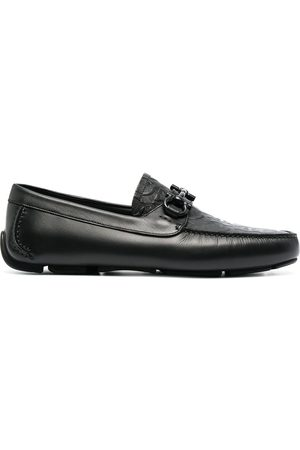 Salvatore Ferragamo Gancini-logo loafers