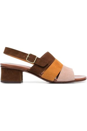 Chie Mihara Colour-block leather sandals