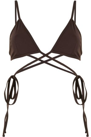 CHRISTOPHER ESBER Wrap-tie bikini top