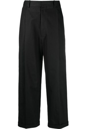 Maison Margiela Turn-up hem tailored trousers