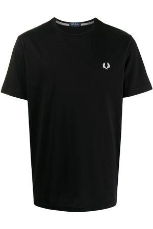 Fred Perry Men Short Sleeve - Laurel Wreath embroidery T-shirt