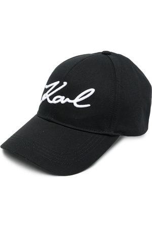 Karl Lagerfeld Women Hats - Embroidered logo baseball cap