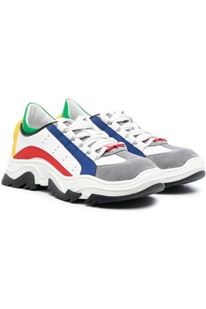 Dsquared2 Colour-block lace-up sneakers