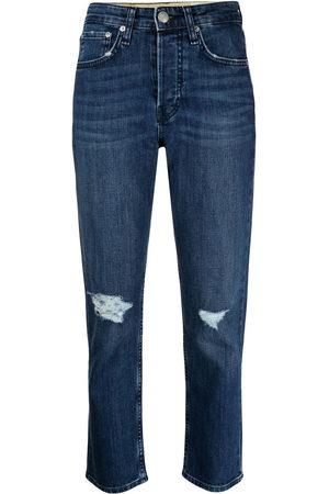 RAG&BONE Maya high-rise cropped jeans