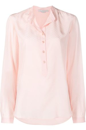 Stella McCartney Eva dot-embroidered shirt