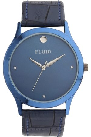 FLUID Men Blue Analogue Watch