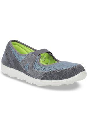 Bata Women Grey Sneakers