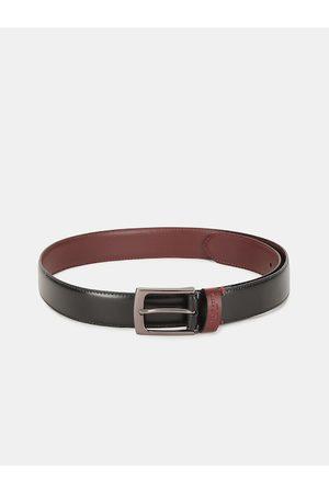 Ralph Lauren Men Black & Brown Solid Belt