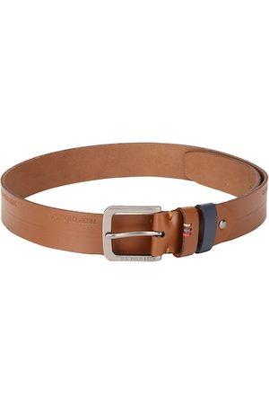 Ralph Lauren Men Tan Solid Belt