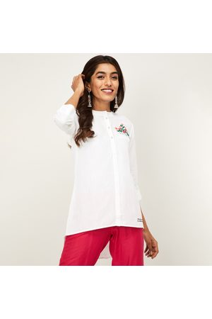 Span Women Tops - Women Embroidered Top