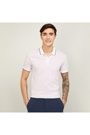 Code Men Printed Polo T-shirt