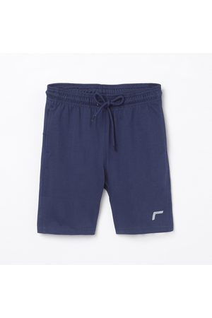 Fame Active Boys Solid Sports Shorts