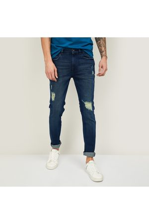 Forca Men Distressed Skinny Fit Jeans