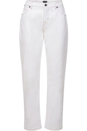 Tom Ford Women Boyfriend - Boyfriend Cotton Denim Stretch Jeans