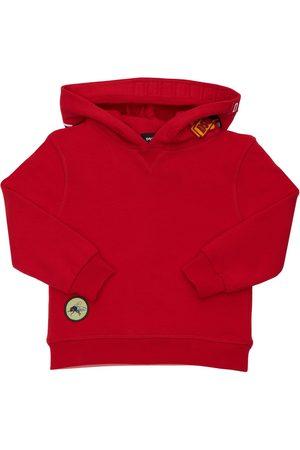 Dsquared2 Girls Sweatshirts - Cotton Sweatshirt Hoodie W/ Patches