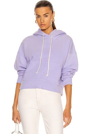 RE/DONE Women Jumpers - Classic Hoodie Sweatshirt in Faded Orchid