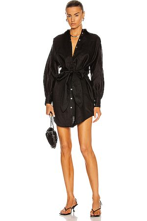 Marissa Webb Emmerson Linen Shirt Dress in Linen