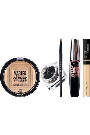 Maybelline New York Set of Highlighter & Liner With Mascara & Concealer
