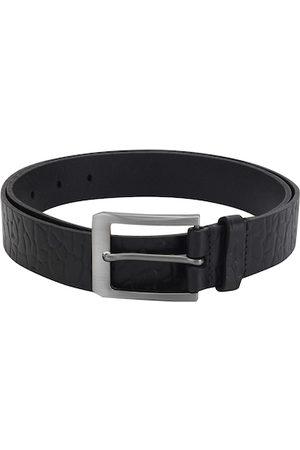 Aditi Wasan Men Black Textured Belt