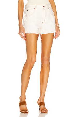 SLVRLAKE Women Shorts - Farrah Short in Natural
