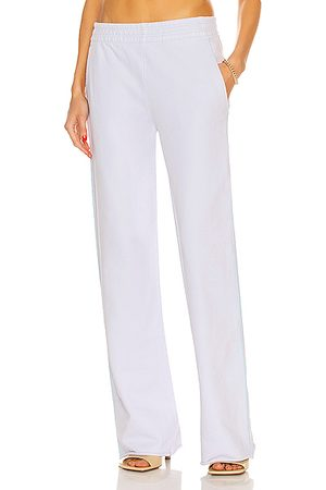 Acne Studios Women Wide Leg Trousers - Flared Sweatpant in Pale