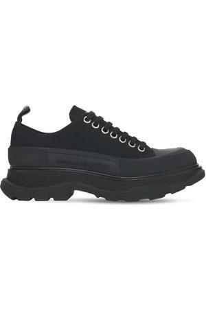 Alexander McQueen 45mm Tread Slick Cotton Canvas Sneakers
