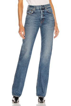 GRLFRND Women High Leg Boots - Melanie High Rise Boot Cut in Los Feliz