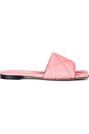 Bottega Veneta Women Platform Sandals - BV Rubber Lido Sandals in Blossom