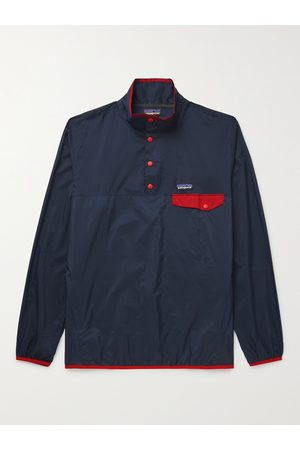 Patagonia Men Outdoor Jackets - Houdini Snap-T Recycled Ripstop Jacket